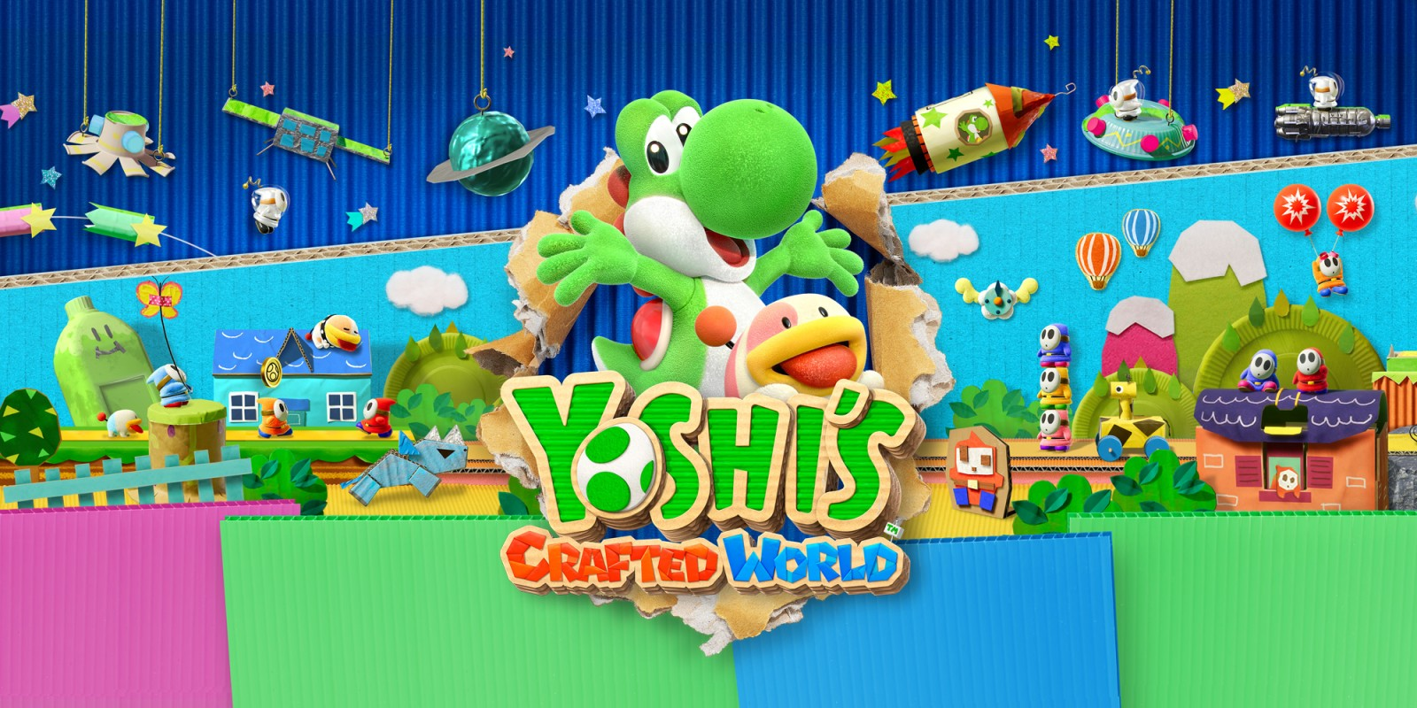 Yoshi's Crafted World: disponibile ufficialmente il nuovo titolo per Nintendo Switch thumbnail