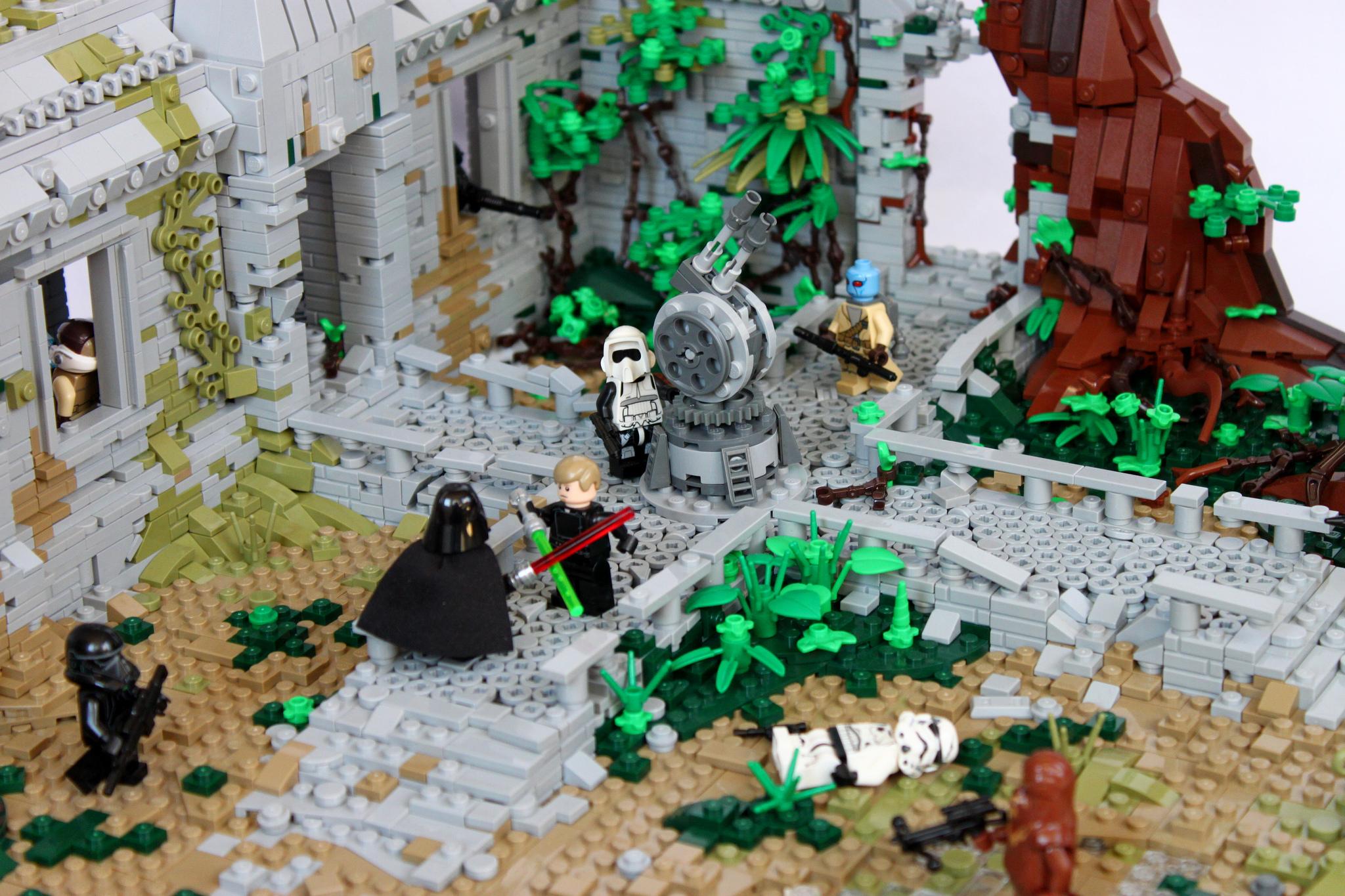 Star Wars Battlefront II si trasforma in un gigantesco set LEGO thumbnail