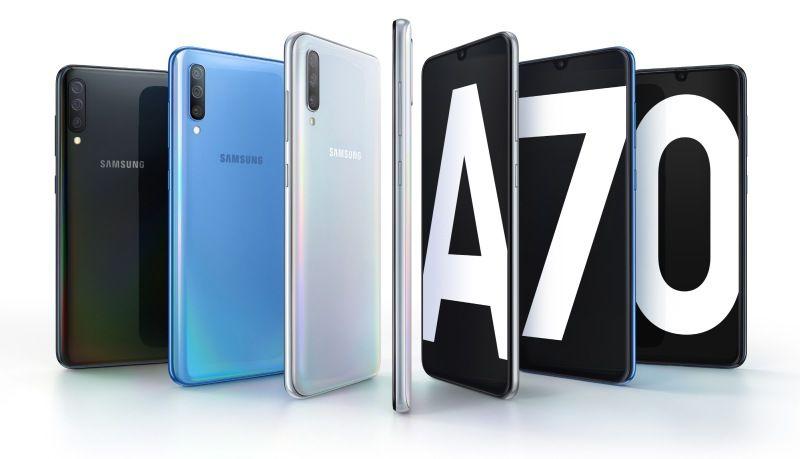 Samsung Galaxy A70: le specifiche tecniche del nuovo arrivato thumbnail