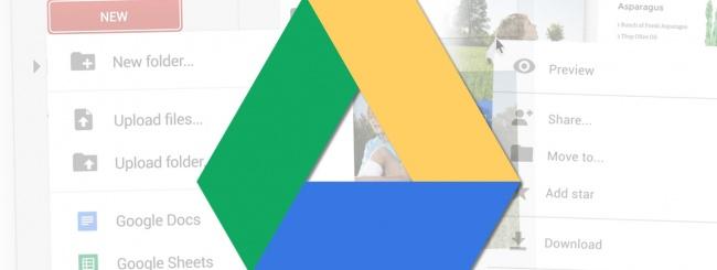 Google Drive: restyling per la versione web mobile thumbnail
