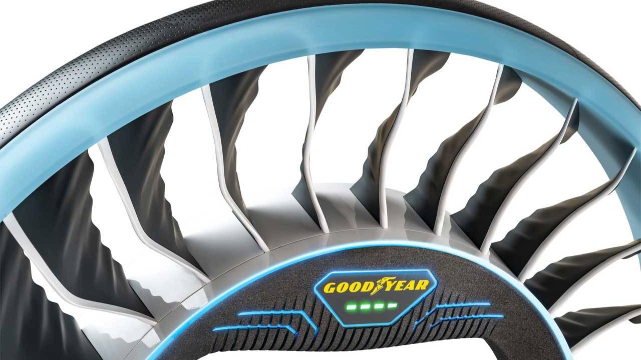 Goodyear AERO: ecco lo pneumatico per la auto volanti thumbnail