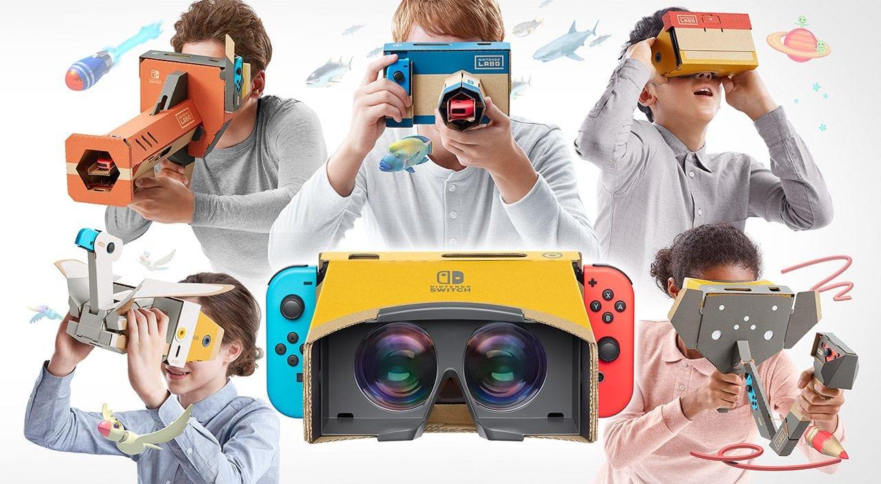 Nintendo Labo Kit VR: nuovi dettagli ed esperienza disponibili al lancio thumbnail