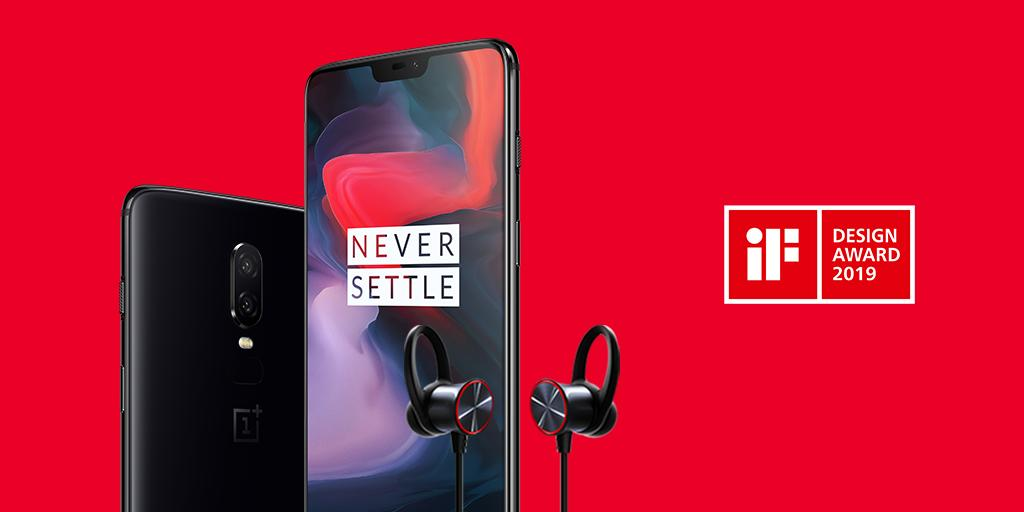 OnePlus: quattro riconoscimenti all'iF Design Award 2019 thumbnail