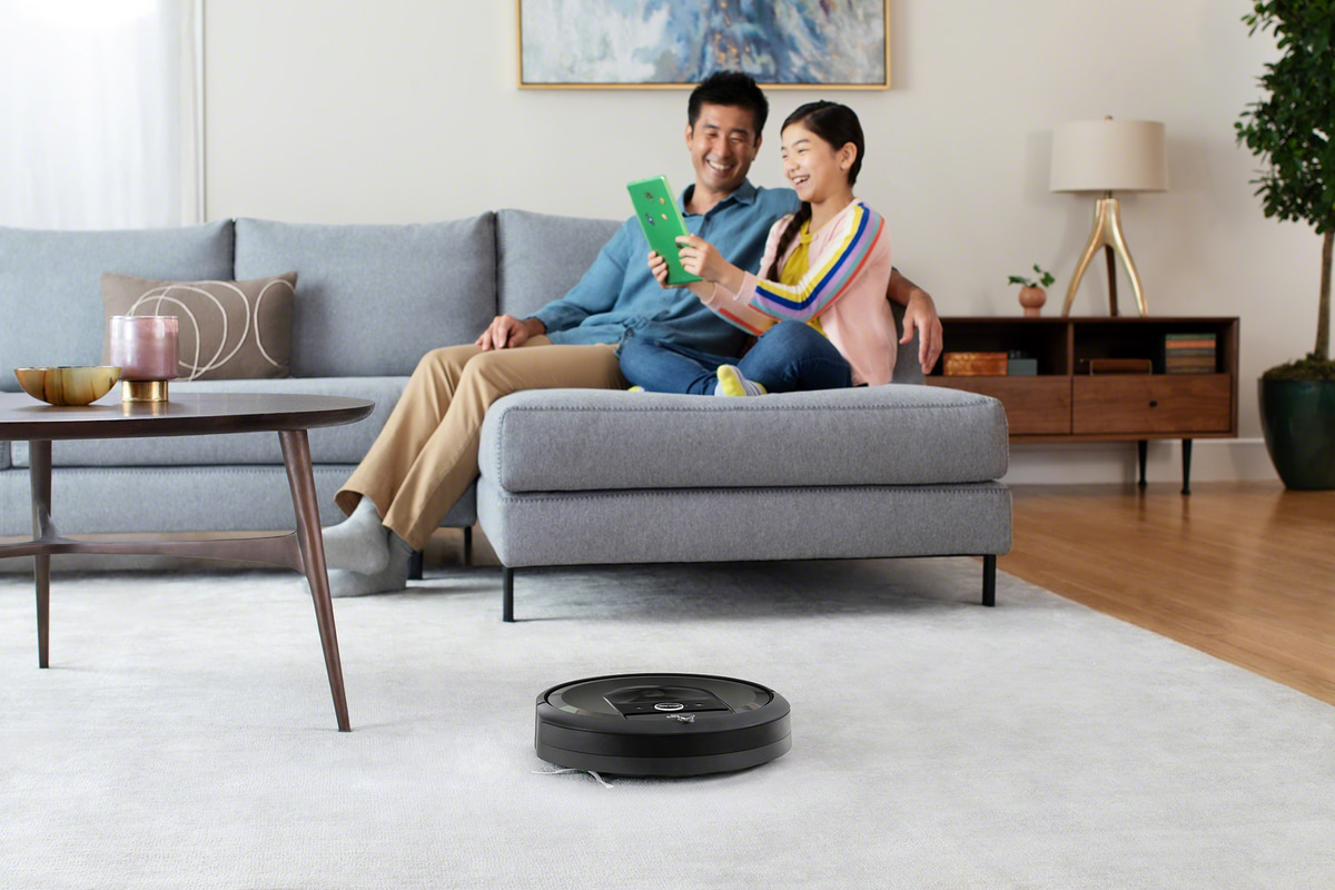 roomba irobot inquinamento indoor polvere sottile