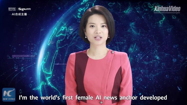 Dalla Cina arriva Xin Xiaomeng: l'intelligenza artificiale che può condurre un TG thumbnail