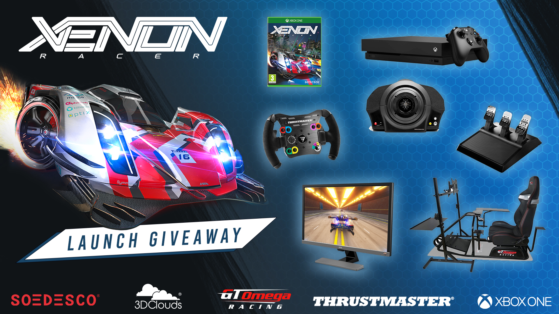 Xenon Racer Giveaway