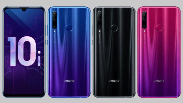 Honor 10i: processore Kirin 710 e tripla fotocamera posteriore thumbnail