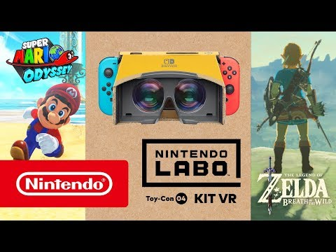Nintendo Labo VR: anche Mario e Link in realtà virtuale thumbnail