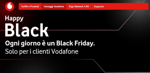 Happy Black: il nuovo programma Vodafone all'insegna delle offerte thumbnail