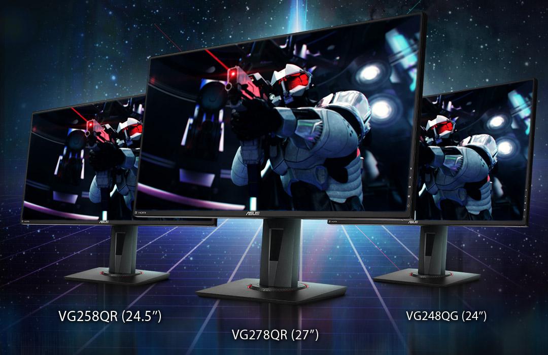 ASUS annuncia tre nuovi monitor compatibili con G-SYNC thumbnail