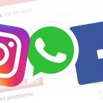 Instagram, WhatsApp e Facebook down