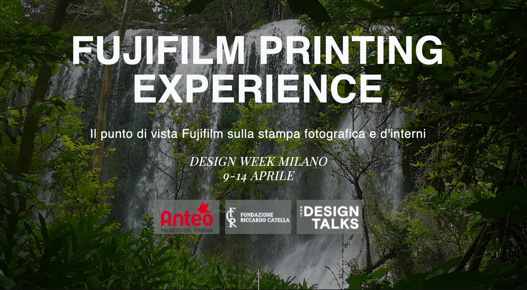 Fujifilm Printing Experience: l'esperienza per il Fuorisalone 2019 thumbnail