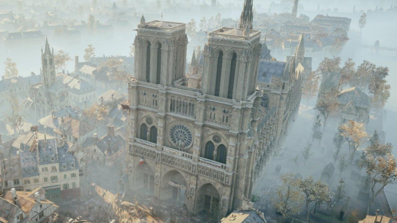 Ubisoft dona mezzo milione a Notre Dame e una settimana di Assassin's Creed Unity gratis per tutti thumbnail