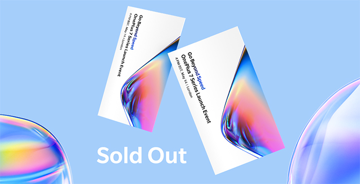 One Plus 7 Series: sold out l'evento di lancio a Londra thumbnail
