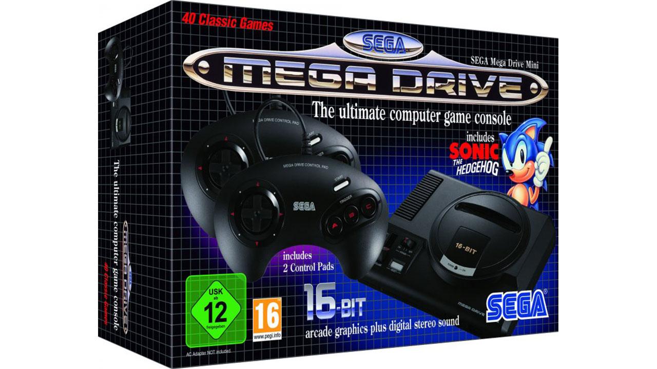 SEGA Mega Drive Mini: data d'uscita e giochi disponibili thumbnail