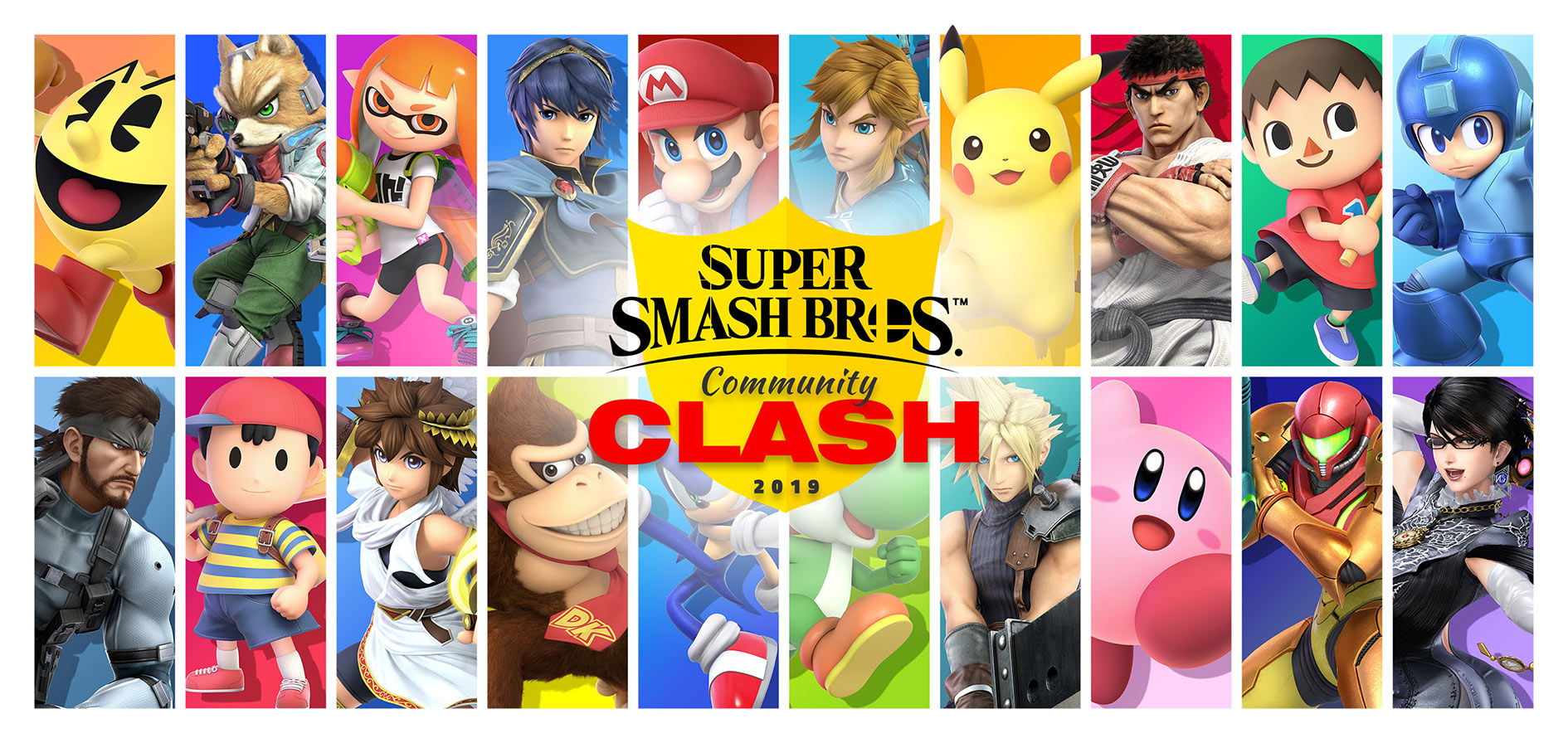 SUPER SMASH BROS. ULTIMATE COMMUNITY CLASH 2019