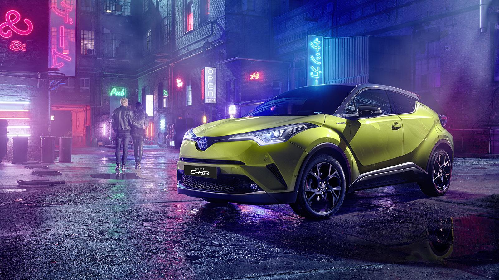 Arriva la nuova Toyota C-HR Neon Lime alimentata da JBL thumbnail