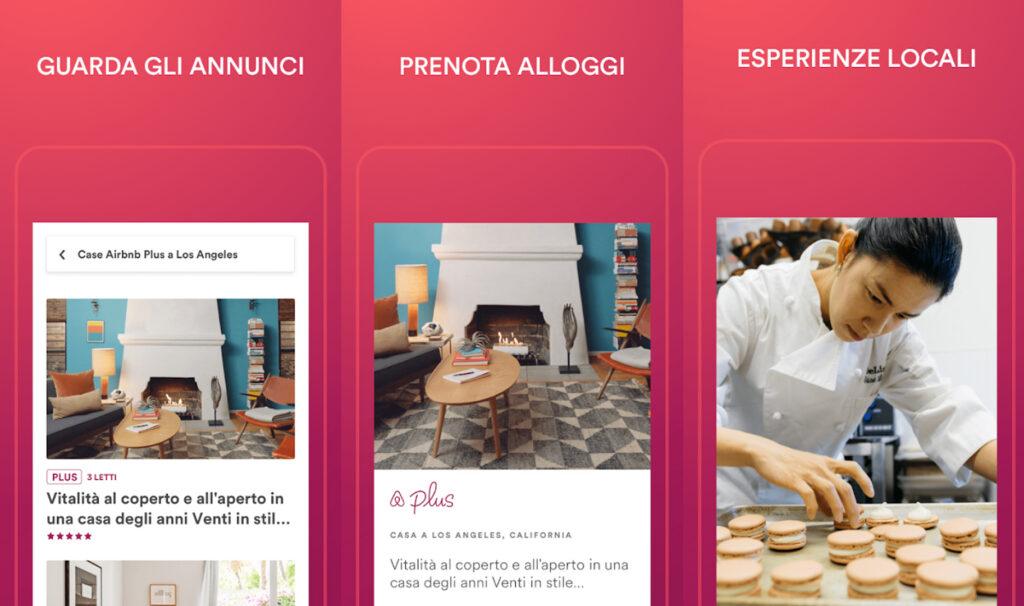 applicazioni alberghi airbnb