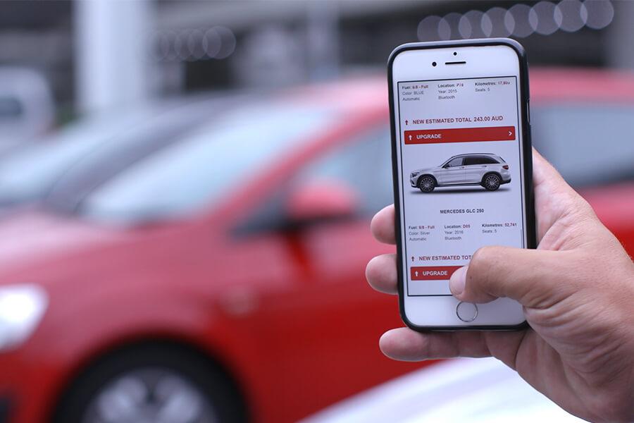 avis app budget group noleggio auto