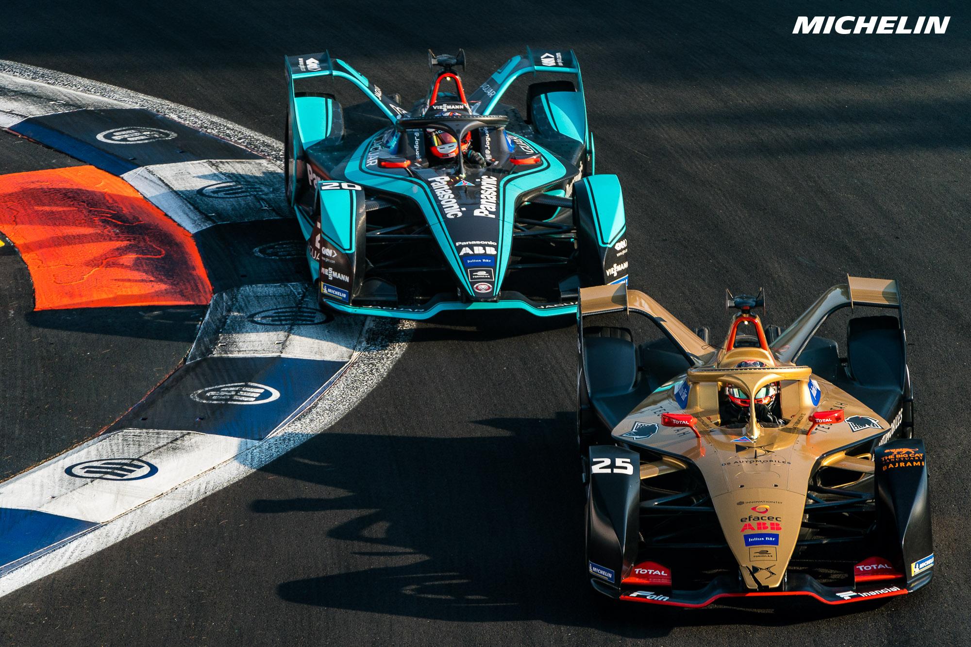 Formula E: il debutto di Michelin Pilot Sport thumbnail