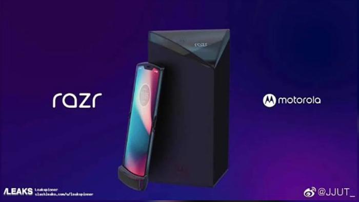 Motorola RAZR: un nuovo smartphone pieghevole? thumbnail
