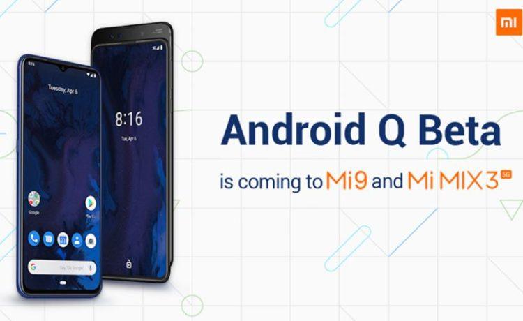 Android Q beta Redmi 855