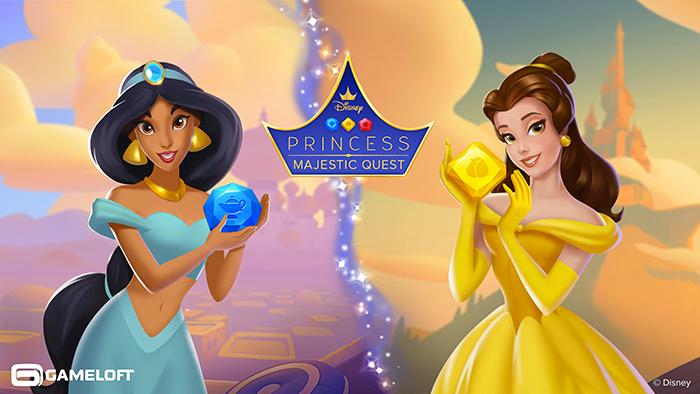 Gameloft: ecco Disney Princess Majestic Quest e Disney Getaway Blast thumbnail