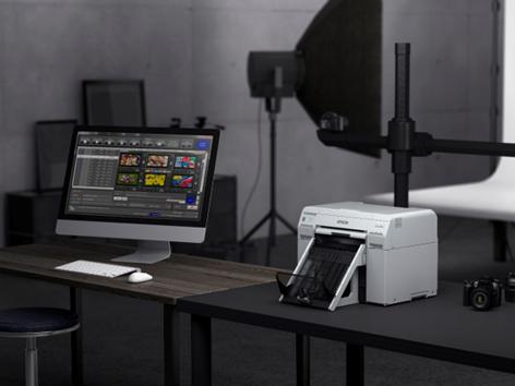Epson SureLab SL-D800: stampante fotografica compatta per tutti i formati thumbnail
