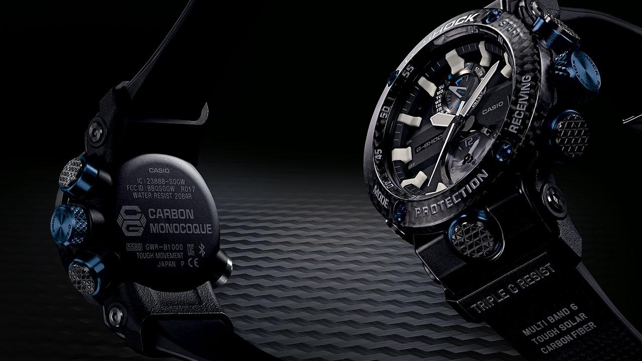 G-Shock Carbon Core Guard Structure: arrivano gli orologi con struttura in carbonio thumbnail