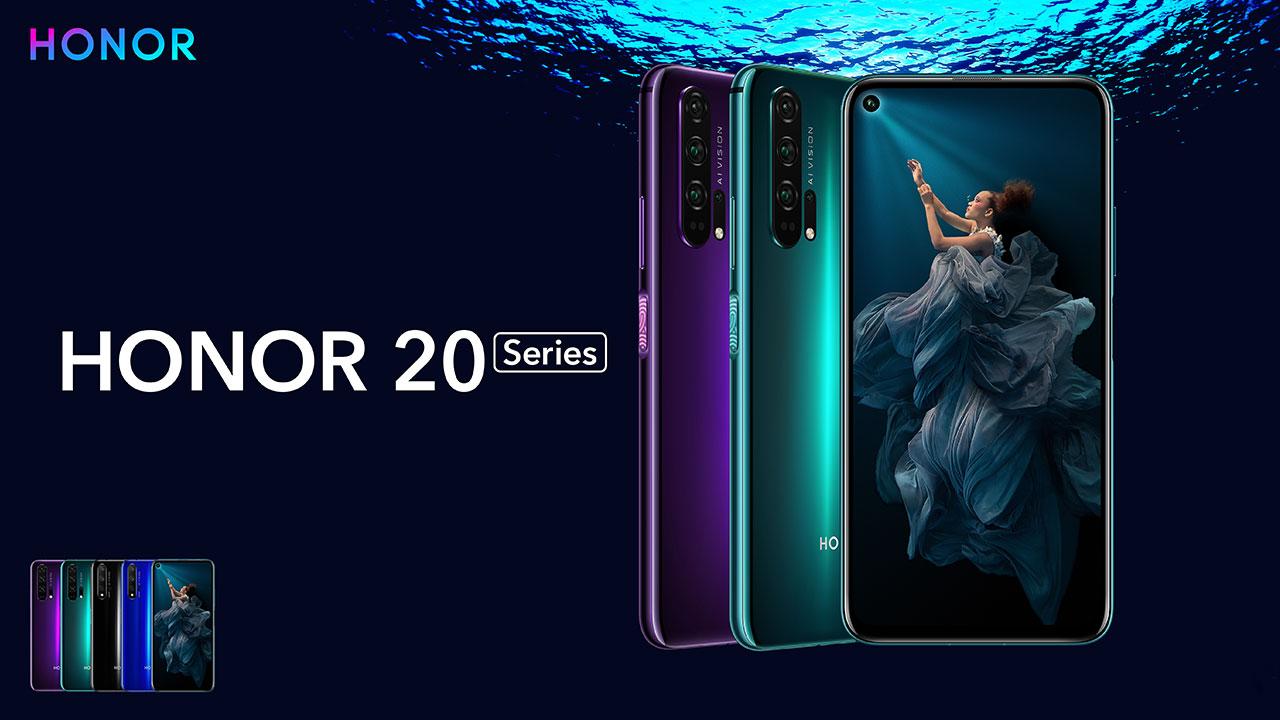 Honor 20: finalmente al via la vendita in Italia thumbnail