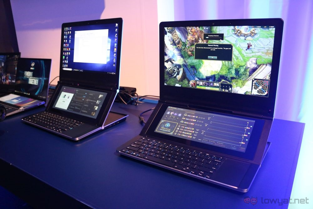 Intel sorprende al Computex con un prototipo di laptop Dual Screen thumbnail