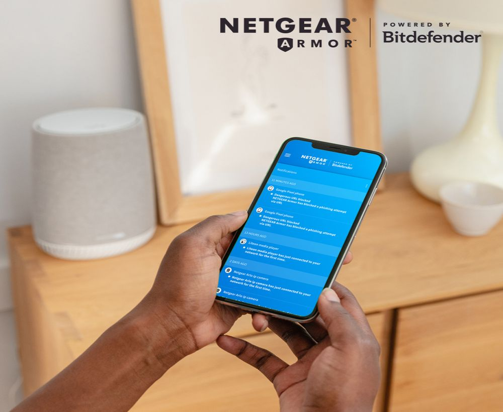 Netgear Armor by Bitdefender: sicurezza per tutti i dispositivi connessi thumbnail