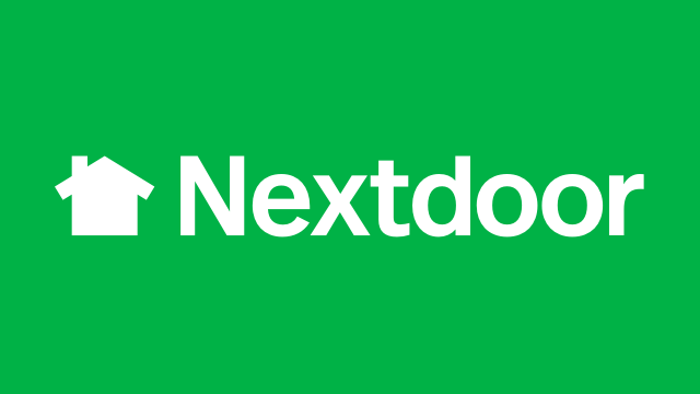 Nextdoor logo pagine aziendali