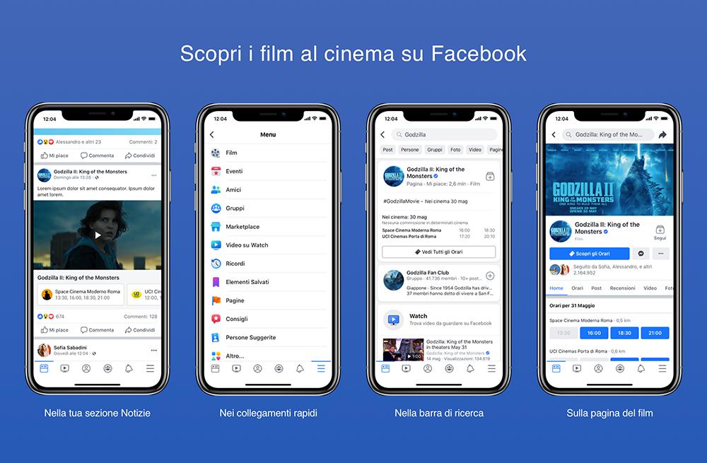 Facebook Film arriva in Italia: il cinema a portata di social thumbnail