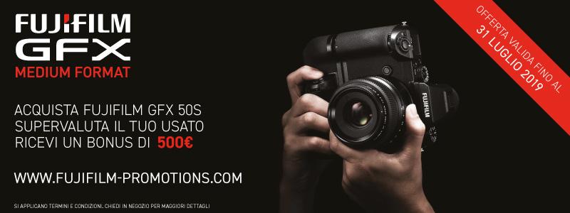 Fujifilm GFX 50S: prolungata la promozione Trade-in thumbnail