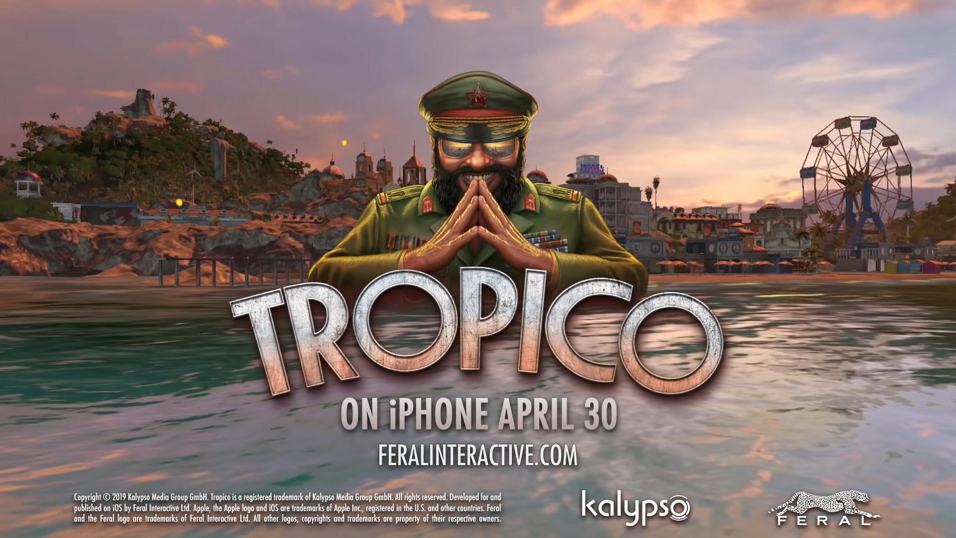 Tropico disponibile su iPhone e aggiornamenti per la versione iPad thumbnail