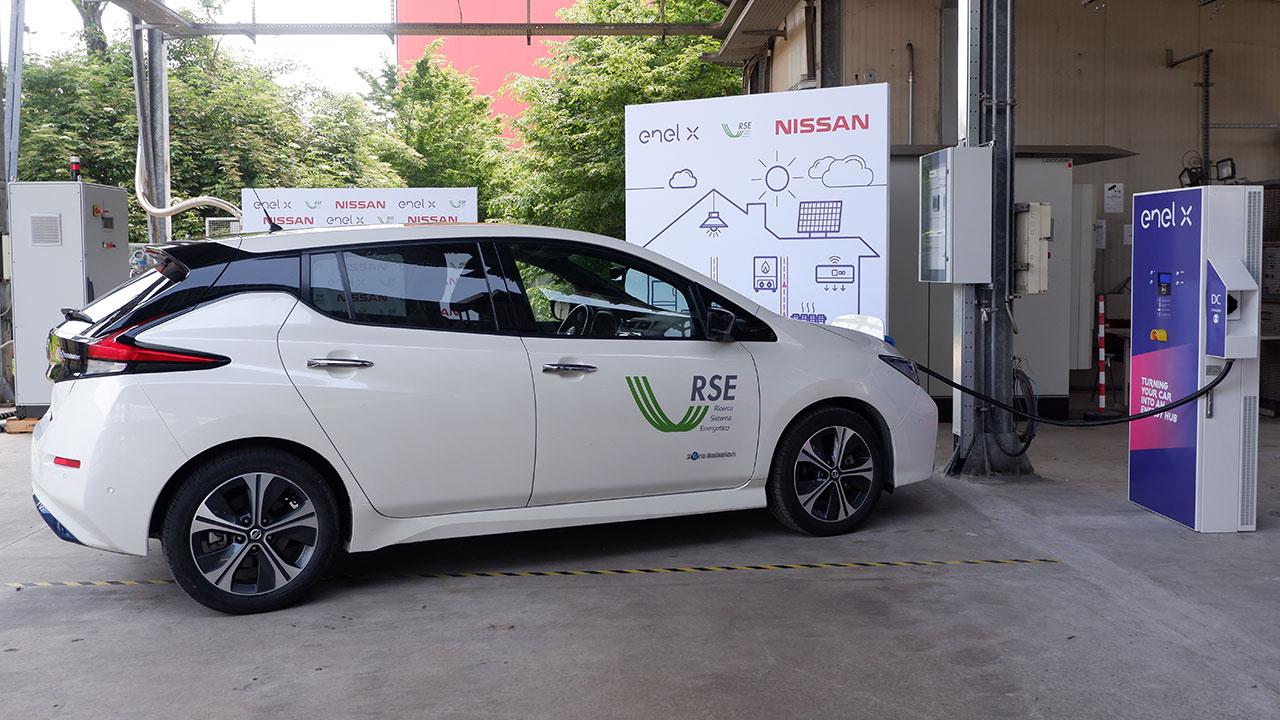 Enel X, Nissan e RSE insieme per spingere la tecnologia Vehicle to Grid thumbnail
