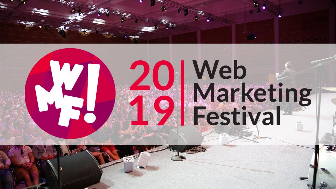 Web Marketing Festival: 55 sale e oltre 500 tra speaker ed ospiti thumbnail