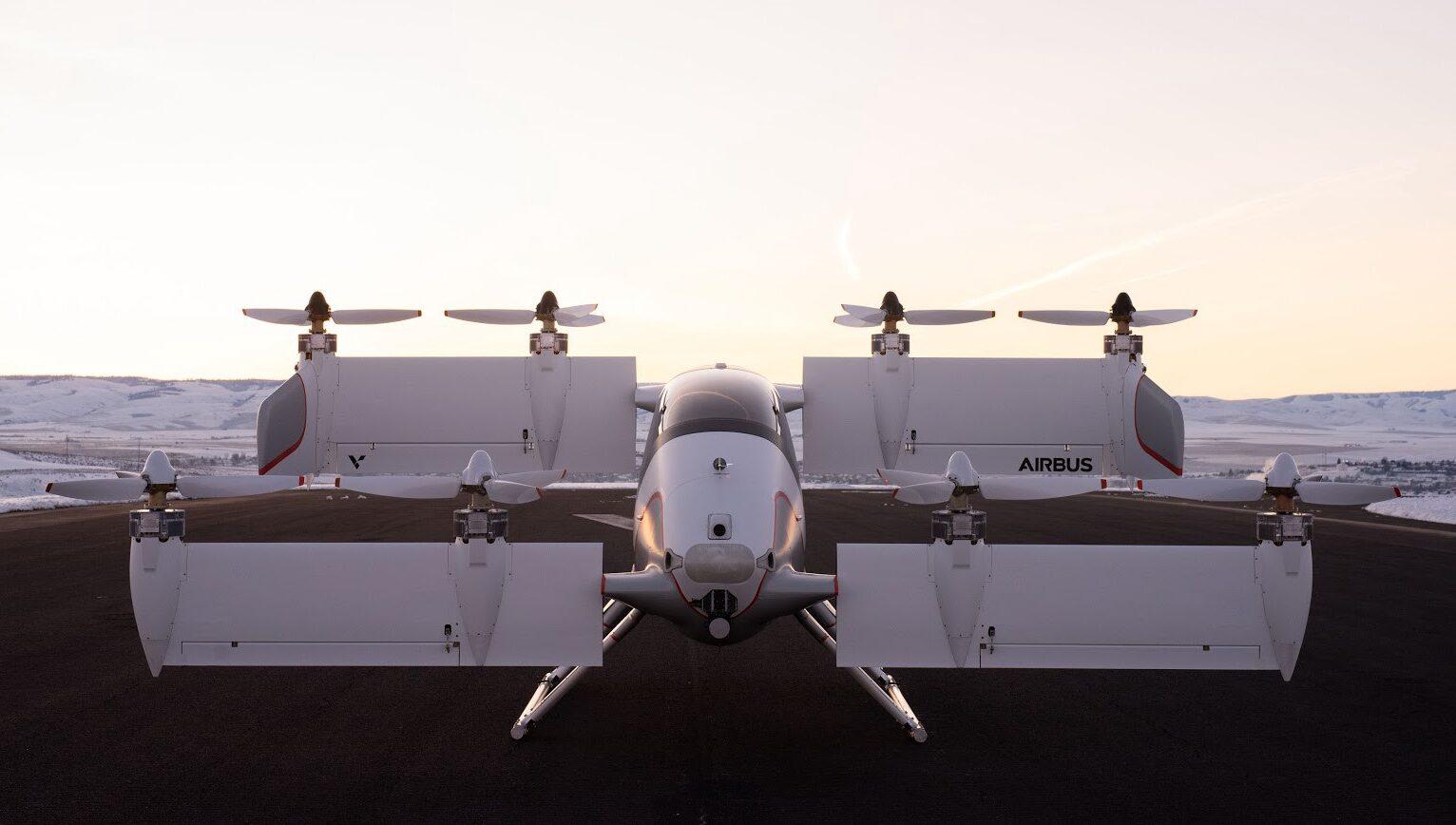 Airbus Vahana: scopriamo il primo aero-taxi elettrico al mondo thumbnail