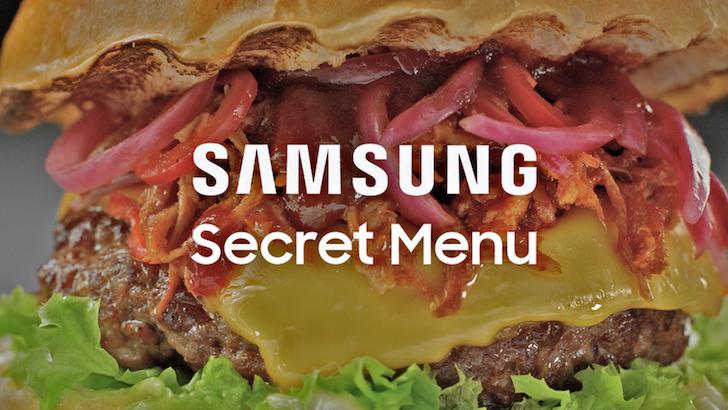 Samsung è pronta ad introdurre un menù segreto dedicato al cibo thumbnail