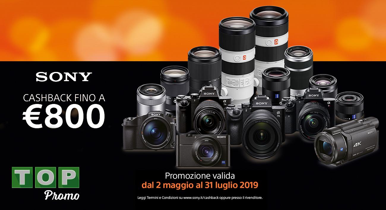Sony cashback: fino a luglio disponibile su fotocamere ed obiettivi thumbnail