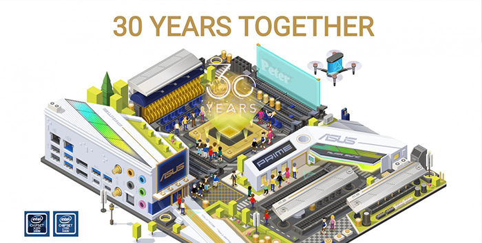 30 Years Together: ecco la campagna per i 30 anni di ASUS thumbnail