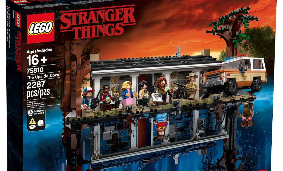 LEGO e Netflix: ecco il set Stranger Things Il Sottosopra thumbnail