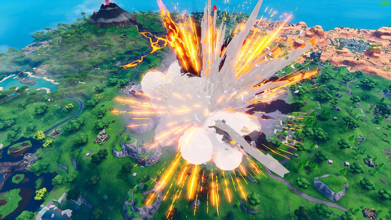 Fortnite: l'eruzione provoca la distruzione di Pinnacoli Pendenti thumbnail