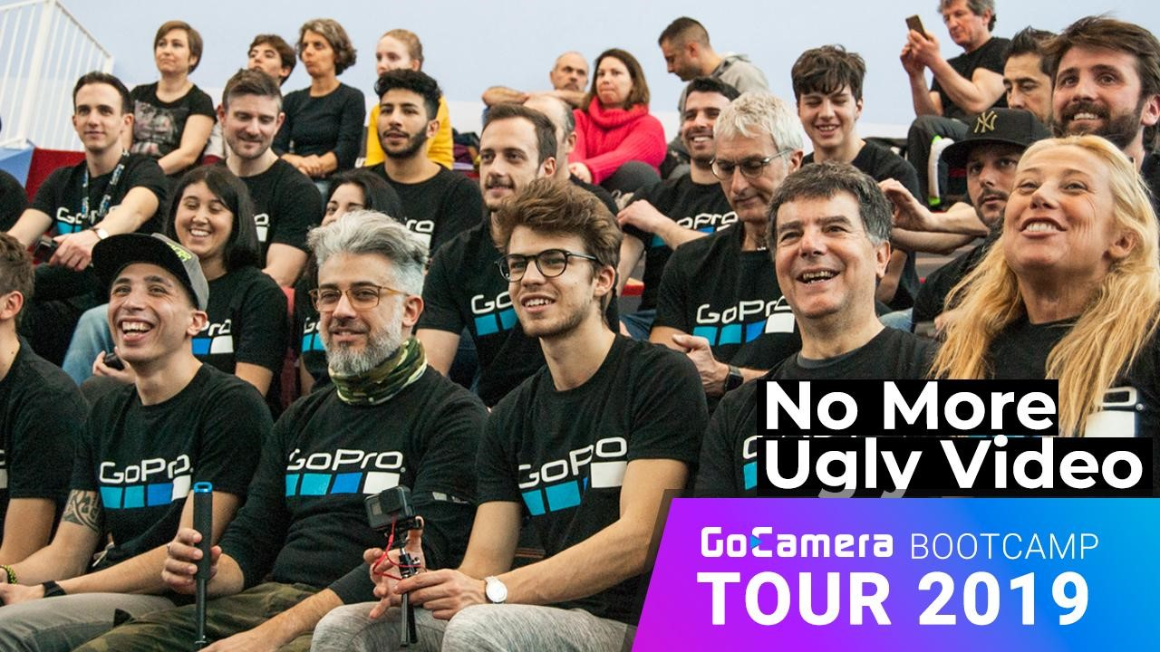 GoCamera Bootcamp Tour 2019: mai più video brutti! thumbnail