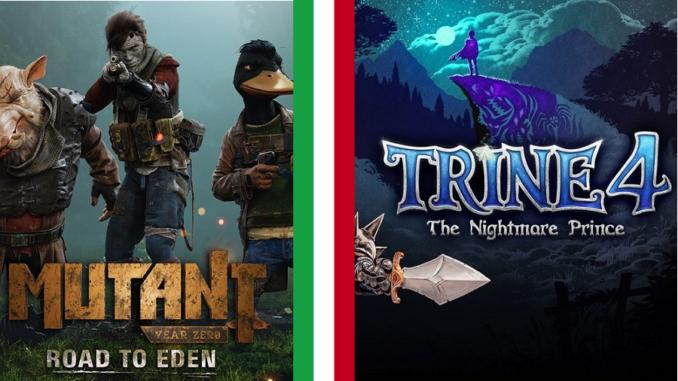 Mutant Year Zero e Trine 4: distribuiti in Italia da Cidiverte thumbnail