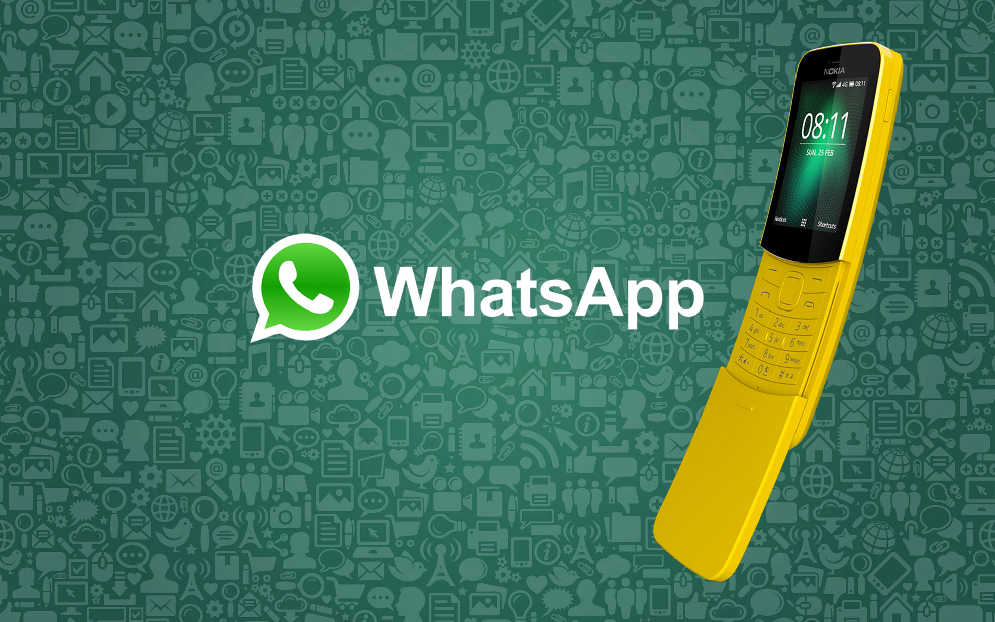 Whatsapp su Nokia 8110
