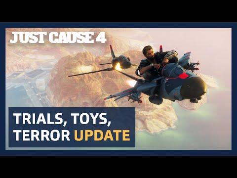 Just Cause 4: l'aggiornamento Trials, Toys, Terror porta giocattoli e orrori! thumbnail