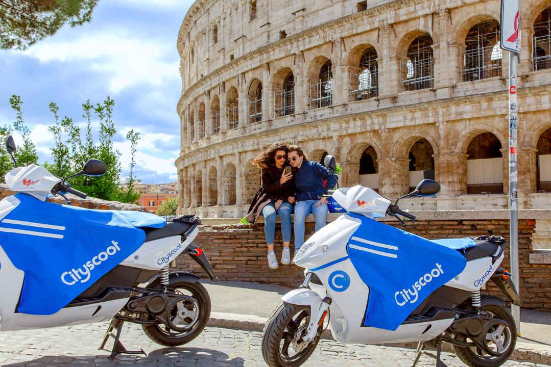 Cityscoot arriva anche a Roma con 200 scooter elettrici thumbnail