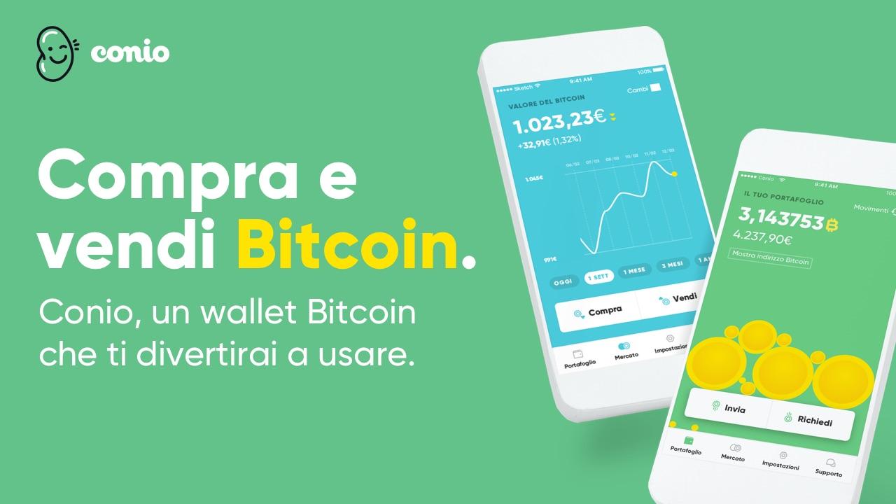 Bitcoin: via agli acquisti senza limiti grazie alla startup Conio thumbnail